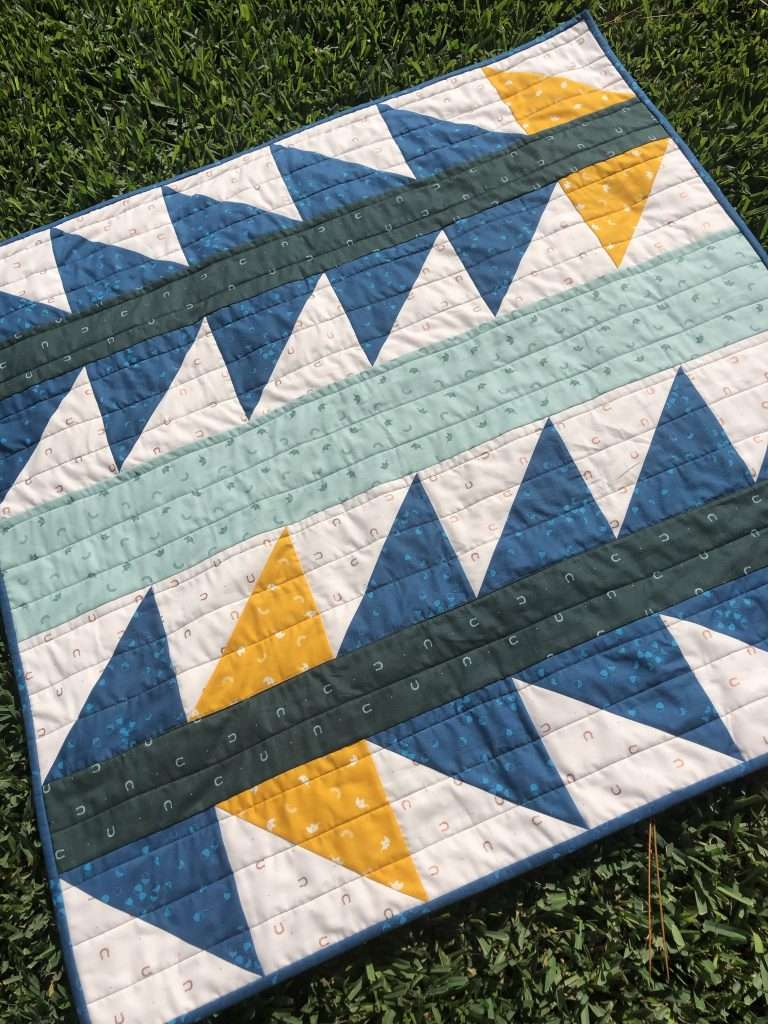 free quilt pattern, explore quilt pattern, easy quilt pattern, beginner quilt pattern, half square triangles quilt, easy quilt, half square triangles quilt pattern, homemade emily jane, modern quilt pattern, modern quilting, quilt pattern free easy, baby quilt, baby boy quilt, boy quilt pattern