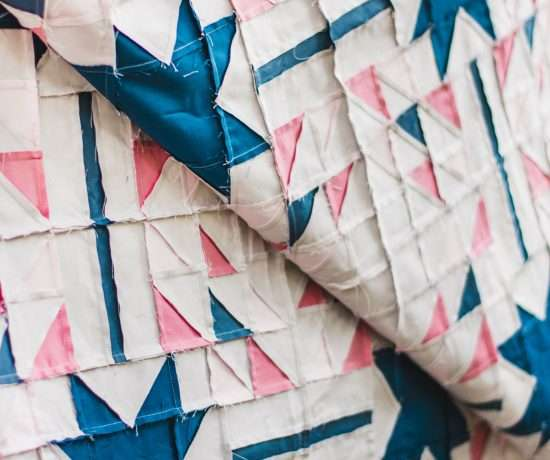 Perfect Half Square Triangle Quilt Block