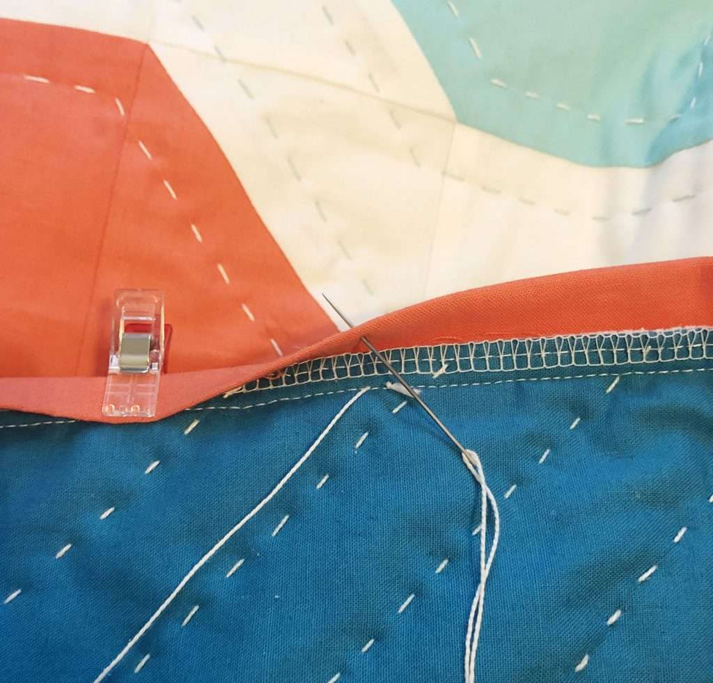 Big Stitch Quilt Binding How to Guide