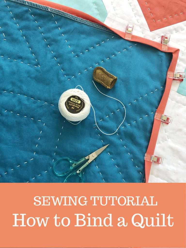 How to Bind a Quilt by hand