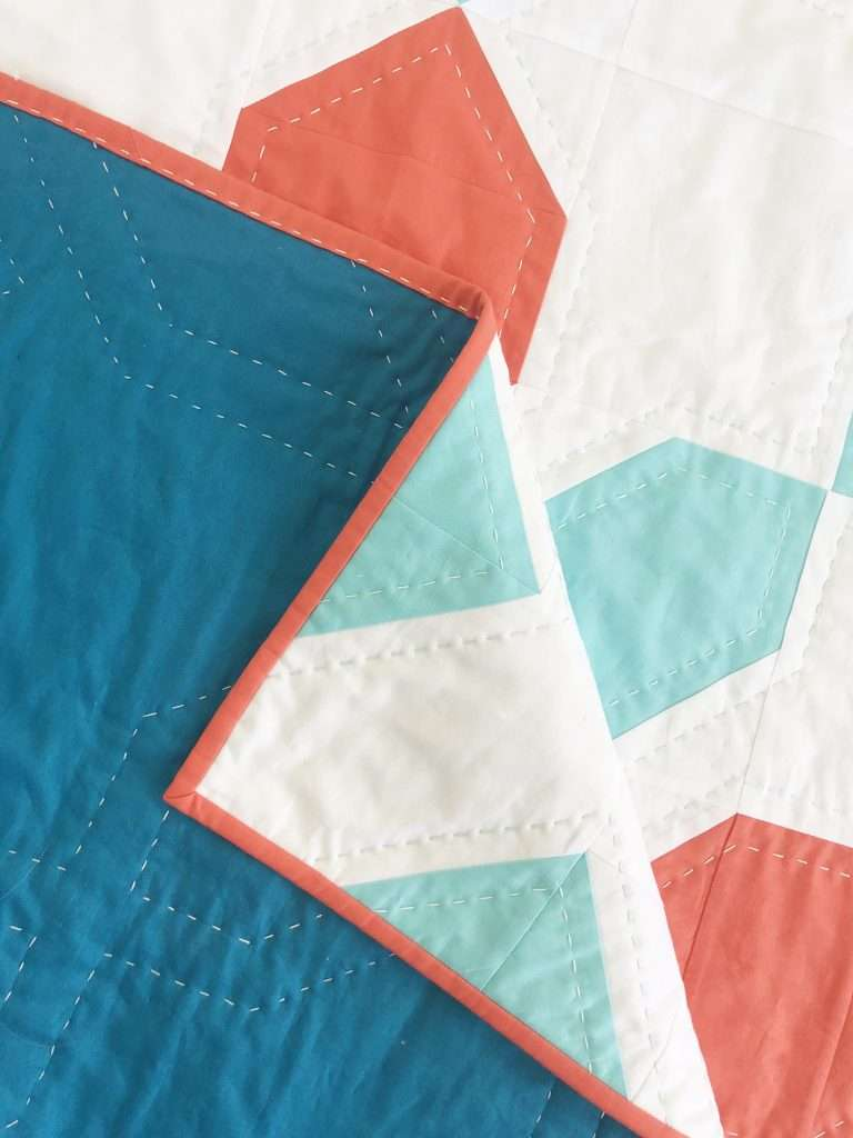 Learn how to hand quilt binding