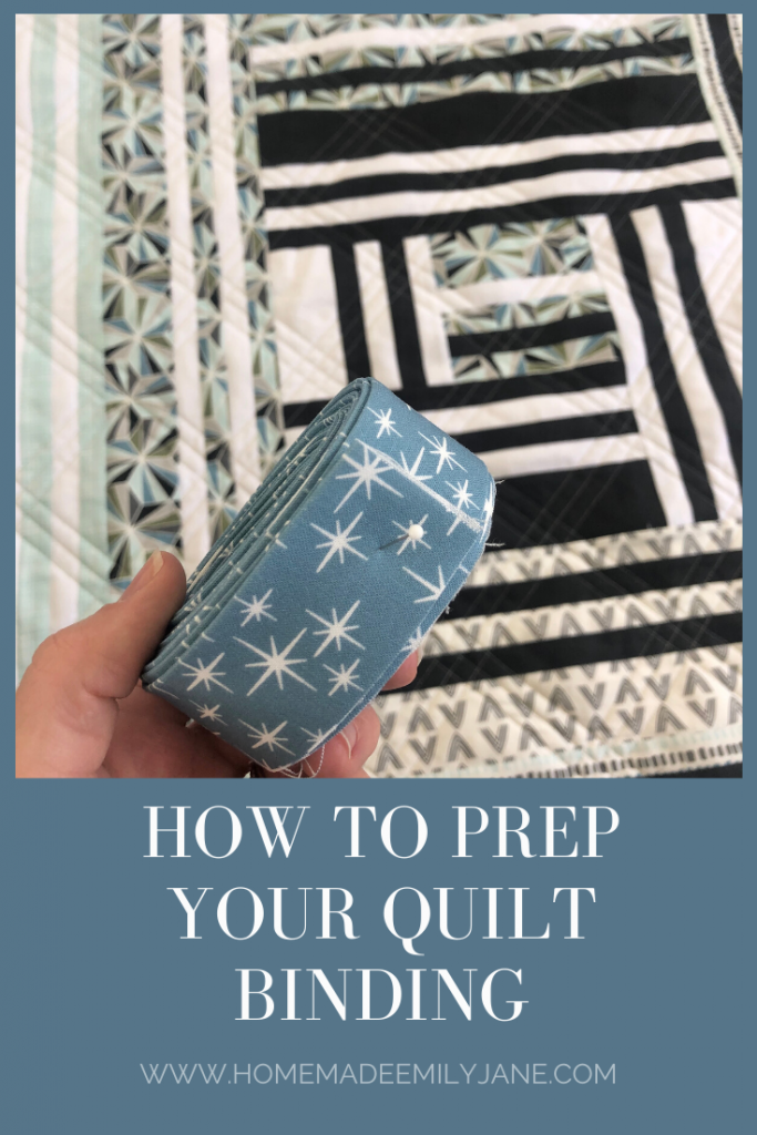 How to prepare your quilt binding