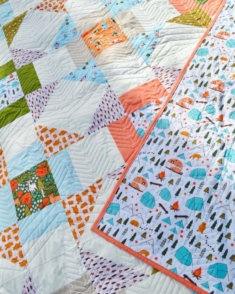 Quilt Binding with your Sewing machine - homemadeemilyjane Learn how to make a Quilt