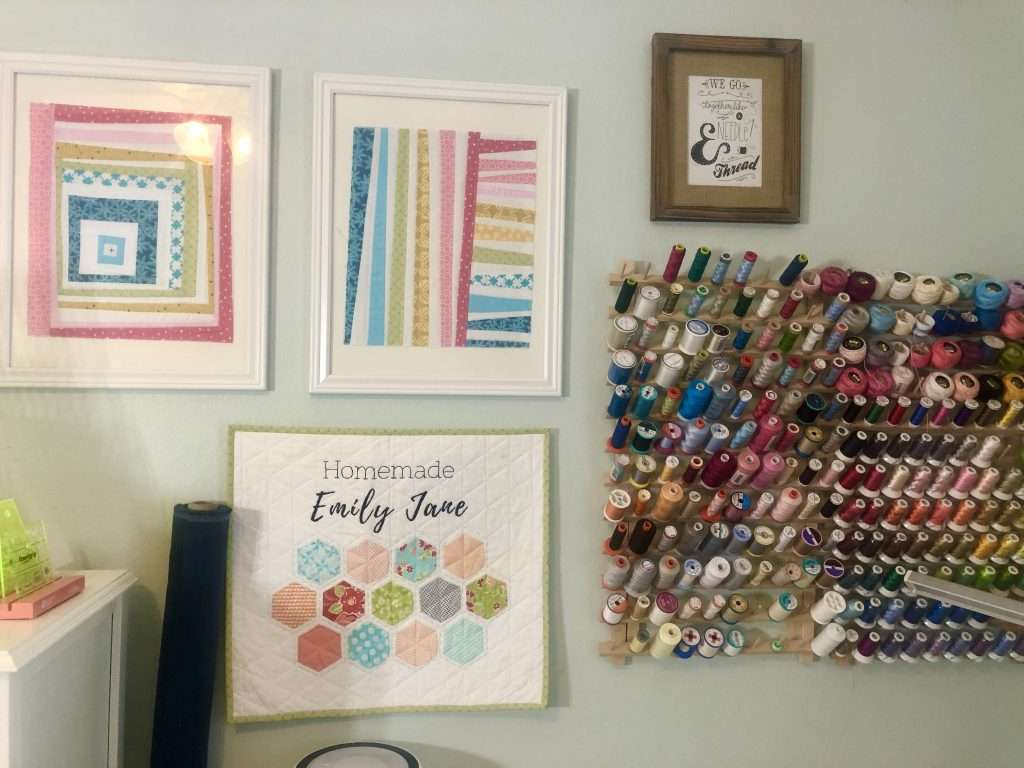 How to Organize a Sewing room, Create a sewing room, creative organization, home office