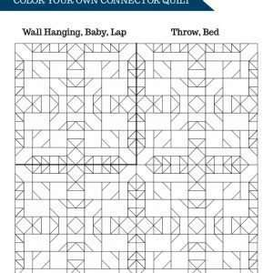 Connector Quilt Coloring Sheet