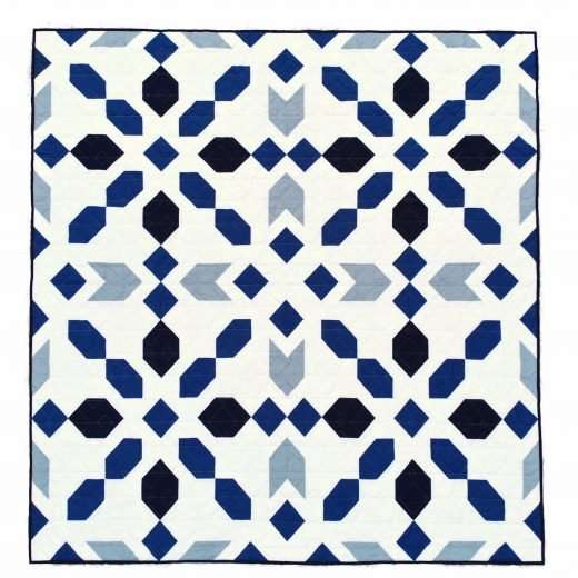 Connector Quilt Pattern Throw Size by Homemade Emily Jane
