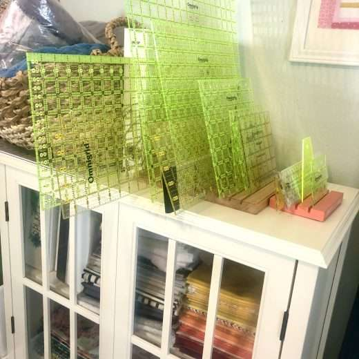 How to organize a craft room, sewing room organization