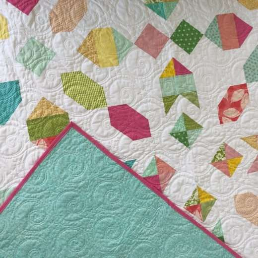 Scrappy Quilt Pattern, ways to use up fabric scraps, reduce waste while quilting