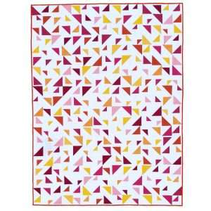 Triangular Quilt Pattern