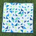 Baby Size Triangular Quilt Pattern