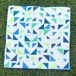 Baby Size Triangular Quilt Pattern