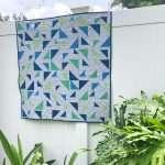 Triangular Quilt Pattern