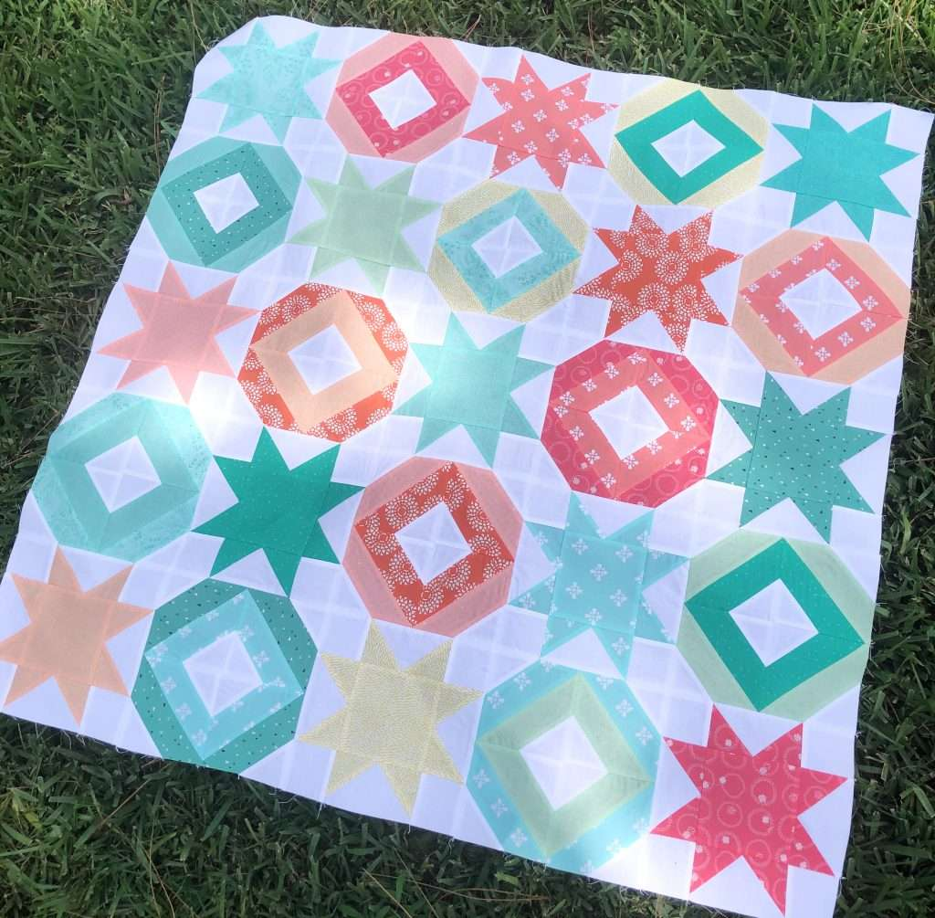 AccuQuilt String Quilt Blocks, angles companion qube, modern quilting, learning to quilt, how to use accuquilt, free quilting tutorials, modern quilt pattern, 2 block quilt