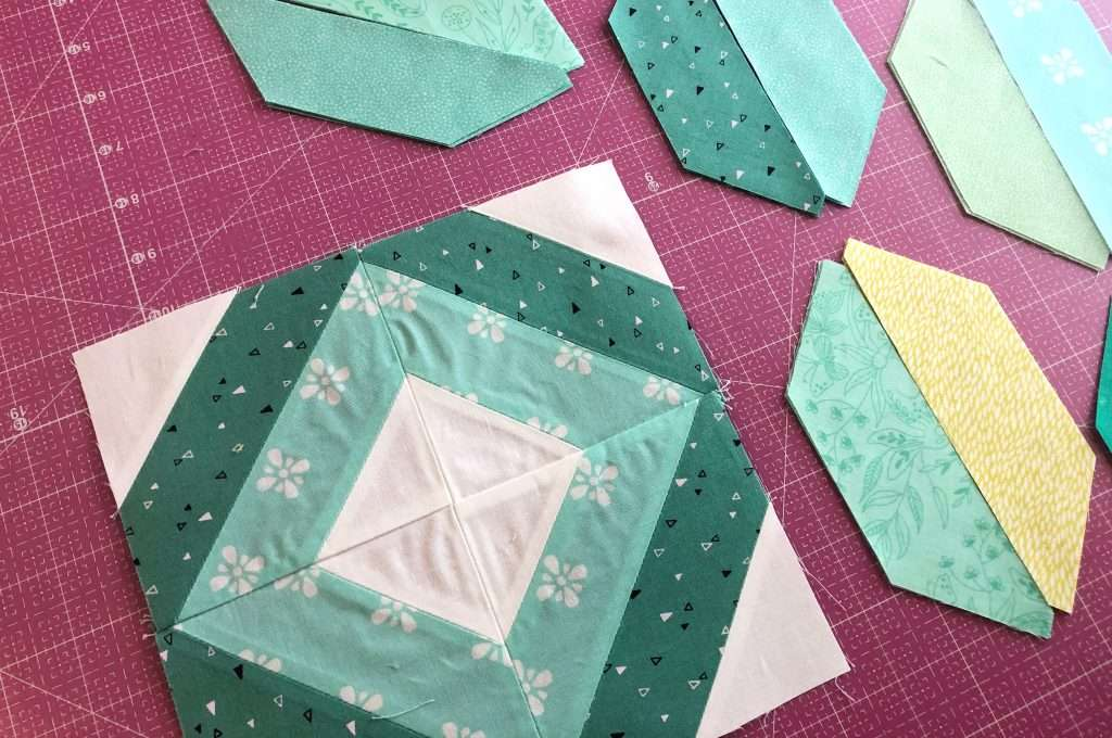 String Quilt Block tutorial, learn how to make a quilt block
