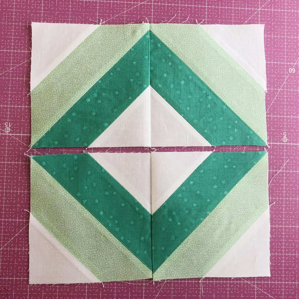 modern quilt block, modern string quilt block, learn to quilt, how to use accuquilt, angles companion set, Cube companion, quilt block with angles, quilt piecing tips