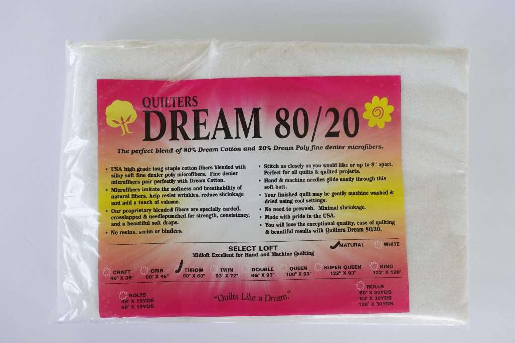 quilters dream batting, 80/20 blend quilt batting, which quilt batting to use