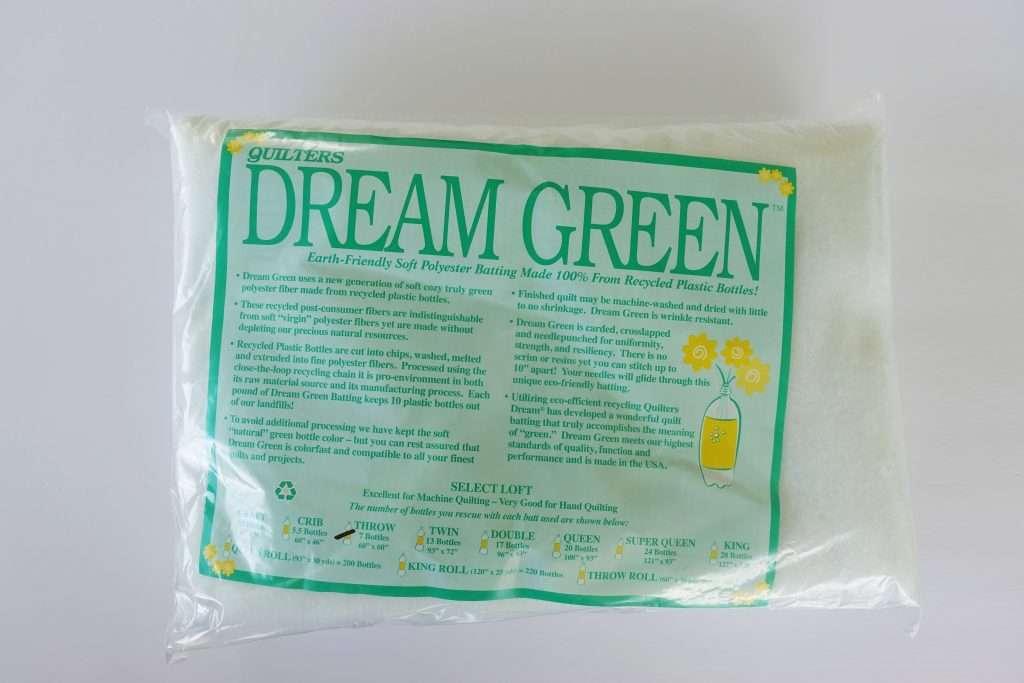 environmentally friendly quilt batting