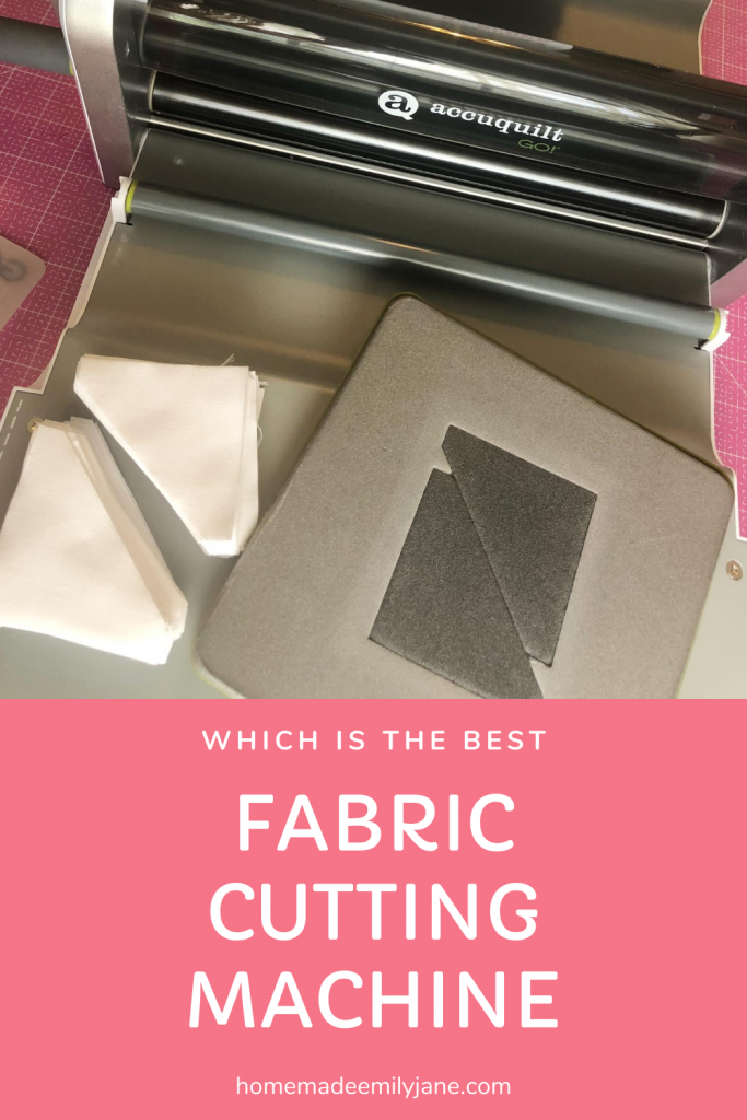 Cutting machine comparison, which cutting machine is best for fabric, learn how to cut fabric with a cutting machine, homemade emily jane