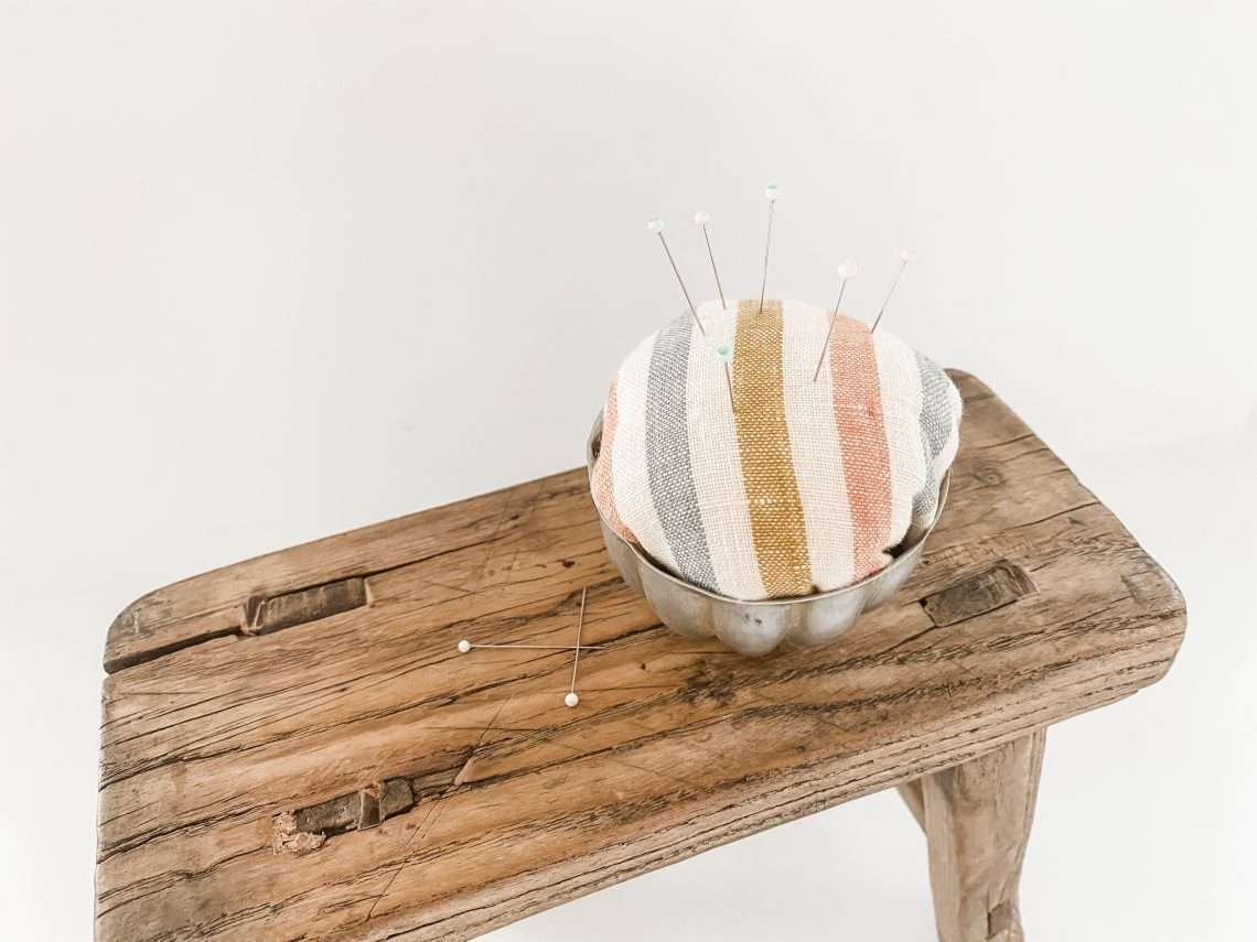homemade diy pincushion craft idea