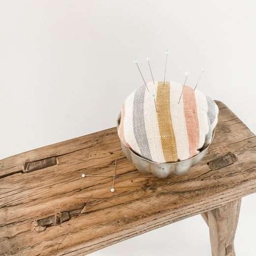 homemade diy pincushion craft idea