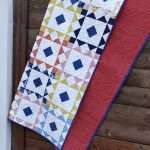Reverberate modern quilt pattern, fat quarter quilt, brightly colored quilt, flying geese quilt, quilting tutorial