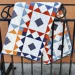 Reverberate modern quilt pattern, fat quarter quilt, brightly colored quilt, flying geese quilt, quilting tutorial, fat quarter fabrics