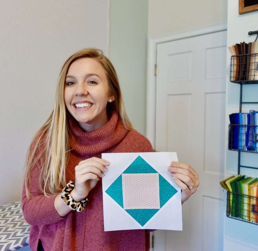 Learn how to make an easy quilt block called the Economy block using this completely free video tutorial