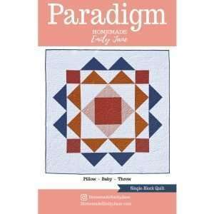 Paradigm quilt pattern paper cover