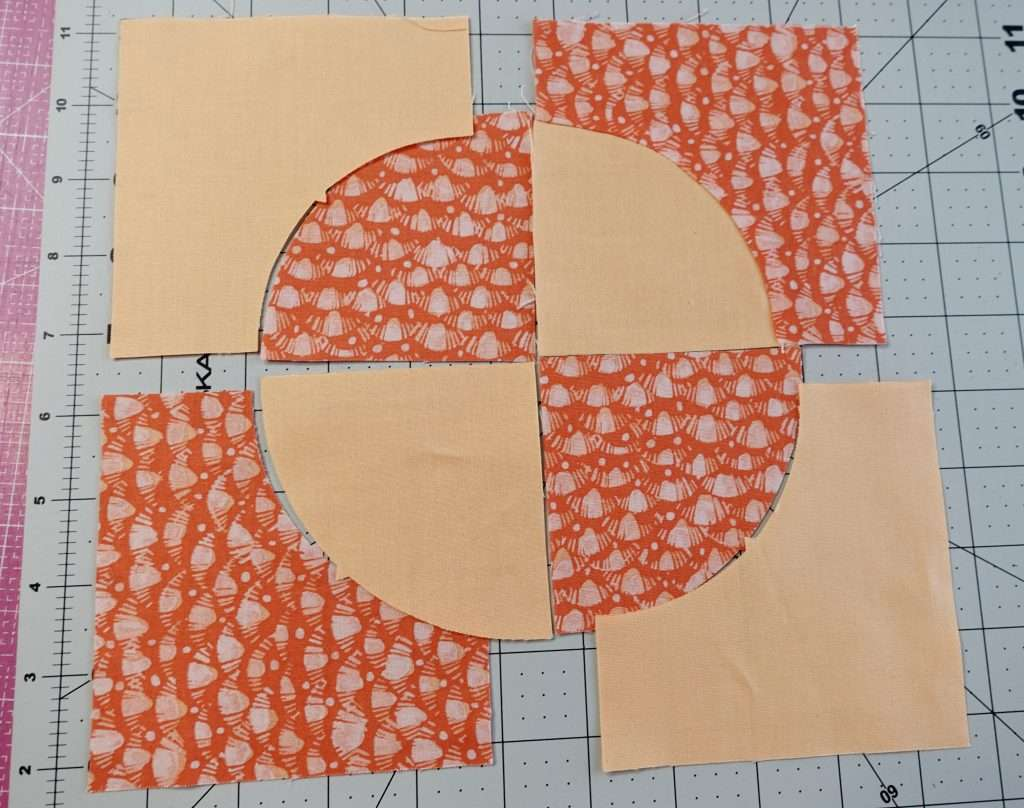 easily make a drunkards path quilt block with these quilting tips