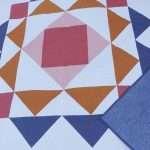 Paradigm quilt pattern, throw size easy modern quilt pattern