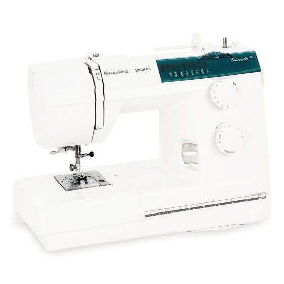the HUSQVARNA VIKING EMERALD 116 is a great sewing machine for beginners who want to learn how to sew and quilt
