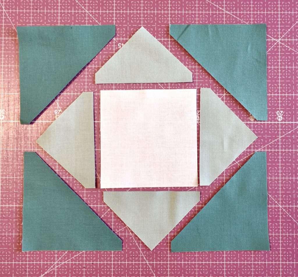 Economy Quilt Block pieces fabric cutting machine