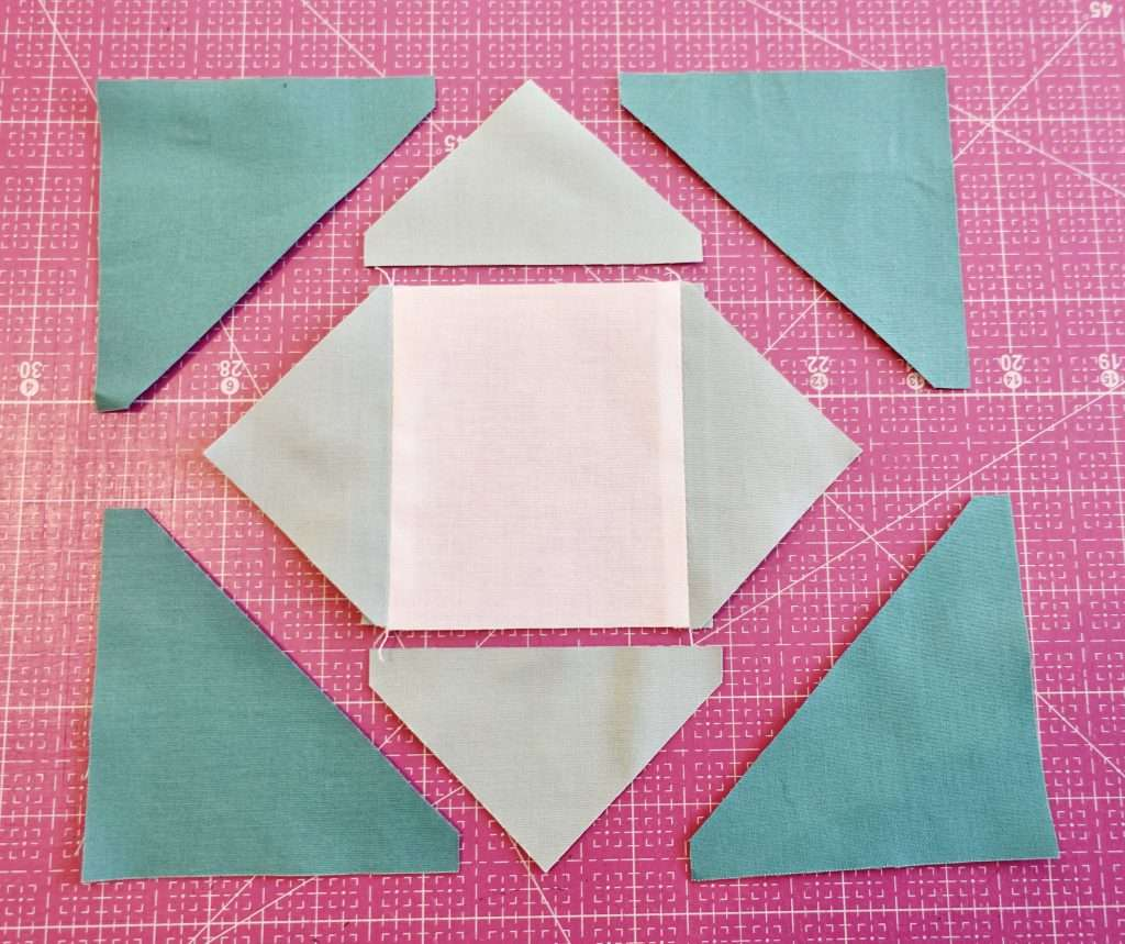 Economy Quilt block tutorial using AccuQuilt fabric cutting machine