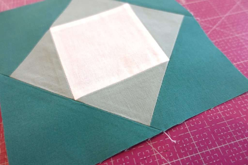 Making an Economy Quilt Block