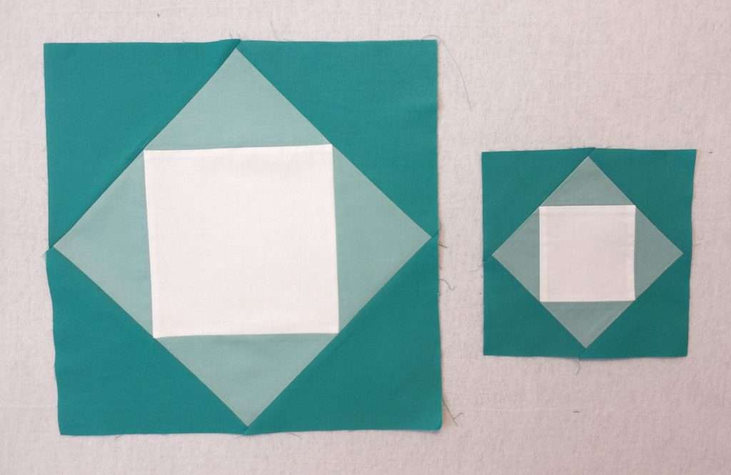 Mix and Match Qube for Economy Quilt Block