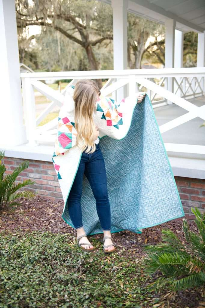 Sprightly quilt pattern by Homemade Emily Jane