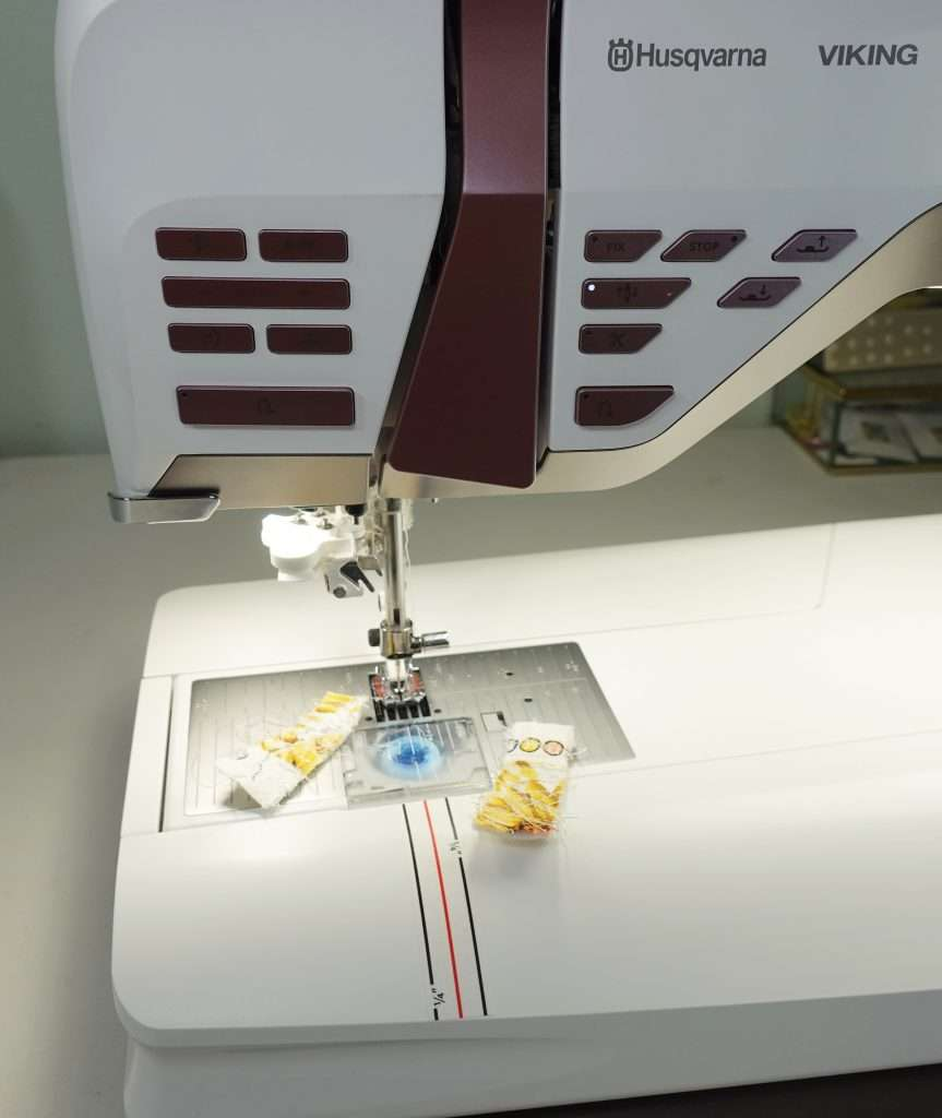 Sewing machine tips for using accuquilt