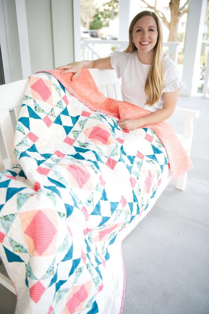 sprightly quilt by homemade emily jane